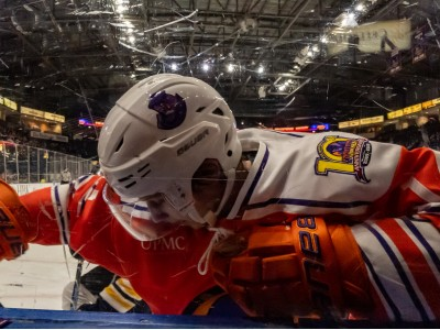 The Youngstown Phantoms and Green Bay Gamblers will be a lot better acquainted after playing 3 games in 3 days. The Phantoms won the first in OT, 4-3.